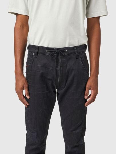Diesel - Krooley JoggJeans® 069WB, Negro/Gris oscuro - Vaqueros - Image 3