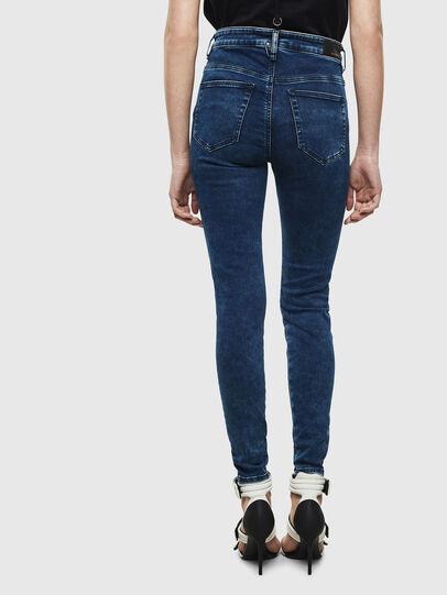 Diesel - Slandy High Skinny Jeans 0094Z, Dark Blue - Jeans - Image 2