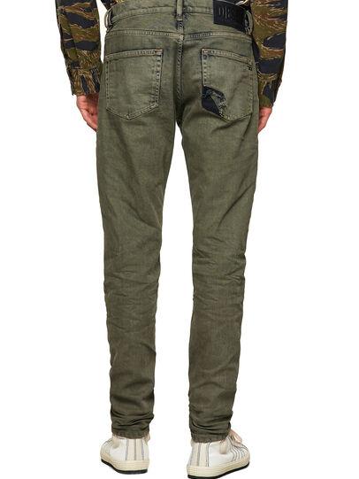 Diesel - D-Strukt Slim Jeans 09A50, Military Green - Jeans - Image 2