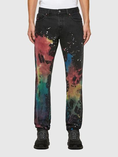 Diesel - D-Kras Slim Jeans 009QV, Black/Dark Grey - Jeans - Image 1