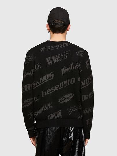 Diesel - K-NICKEL, Black - Sweaters - Image 2