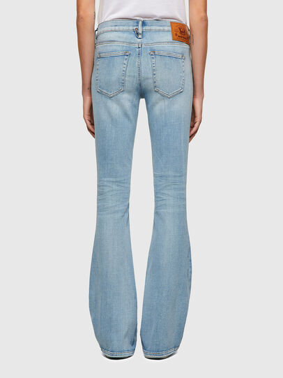 Diesel - D-Ebbey Bootcut Jeans 009TL, Light Blue - Jeans - Image 2