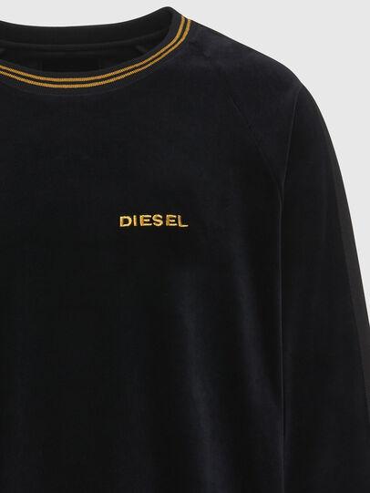 Diesel - UMLT-MAX, Black - Sweatshirts - Image 3