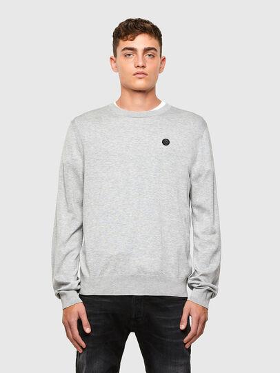 Diesel - K-CROFT, Grey - Sweaters - Image 1