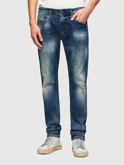 Diesel - Thommer Slim Jeans 009RD, Dark Blue - Jeans - Image 1