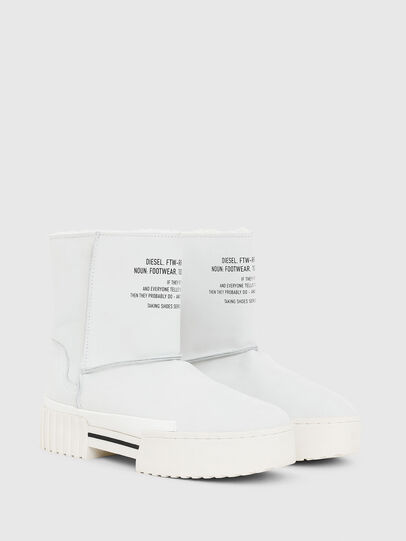 Diesel - H-MERLEY AB, White - Ankle Boots - Image 2