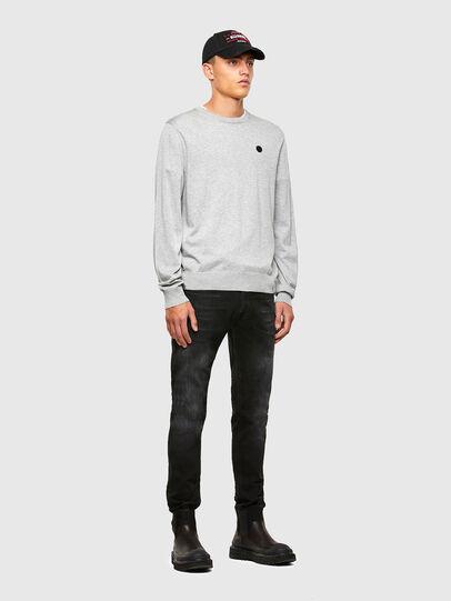 Diesel - K-CROFT, Grey - Sweaters - Image 4