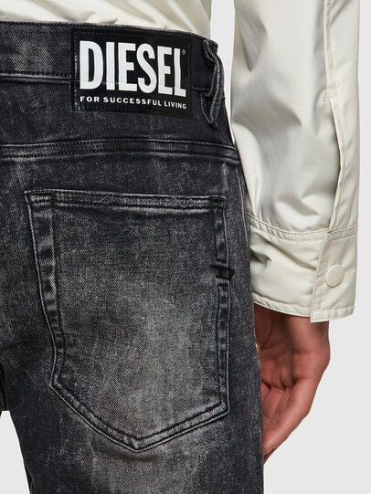 Diesel - D-Amny Skinny Jeans 009PX, Black/Dark Grey - Jeans - Image 3