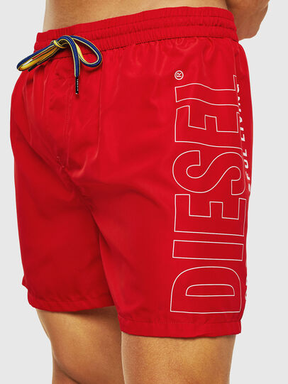Diesel - BMBX-WAVE 2.017, Red - Swim shorts - Image 3