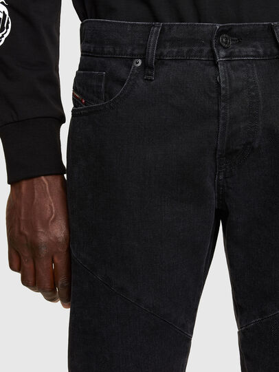 Diesel - D-Kras Slim Jeans 009RC, Black/Dark Grey - Jeans - Image 3