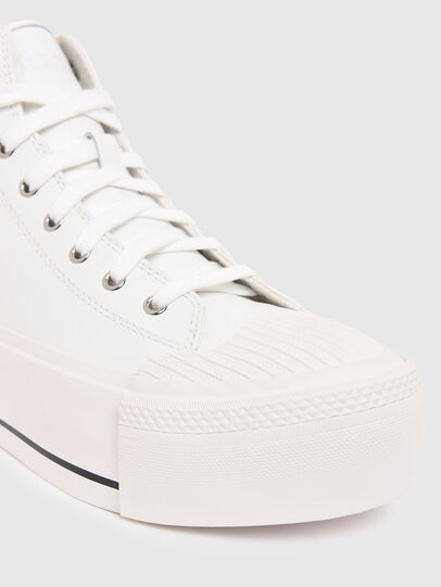 Diesel - S-ASTICO MC WEDGE, Blanco - Sneakers - Image 4