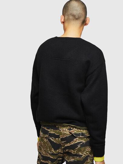 Diesel - K-PILOT, Black - Sweaters - Image 2