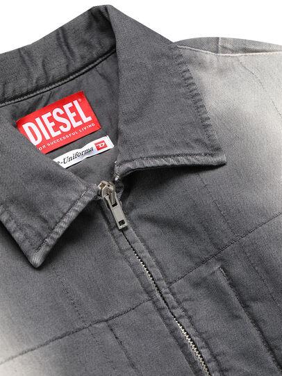 Diesel - GR02-J301, Grey/White - Denim Jackets - Image 3