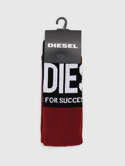 Diesel - SKM-RAY, Burgundy - Socks - Image 2
