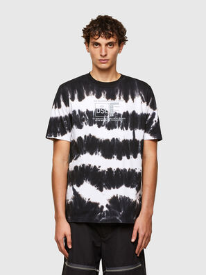 T-JUST-A38, Black/White - T-Shirts