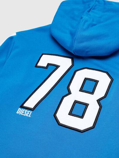 Diesel - UMLT-BRANDON-Z-SP, Blue/White - Sweatshirts - Image 3