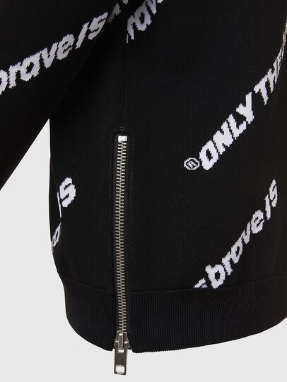 Diesel - K-DAVIS, Black - Sweaters - Image 4