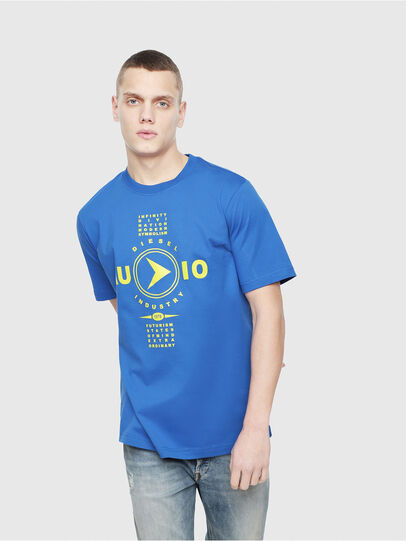 Diesel - T-JUST-Y2, Brilliant Blue - T-Shirts - Image 1