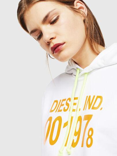 Diesel - S-GIRK-HOOD, White - Sweatshirts - Image 5