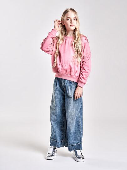 Diesel - SFTARAP, Pink - Sweatshirts - Image 4