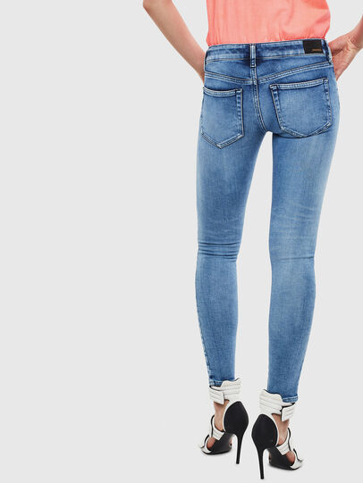 Diesel - Slandy Low 0095P, Light Blue - Jeans - Image 2
