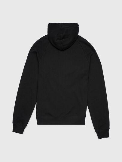 Diesel - UMLT-BRIANZ-W, Black - Sweatshirts - Image 2