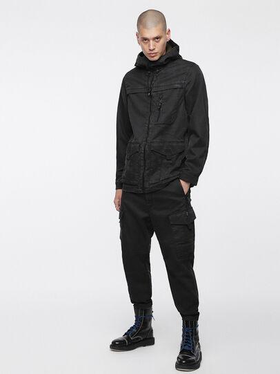 Diesel - Phanto JoggJeans 0EATZ, Black/Dark Grey - Jeans - Image 6