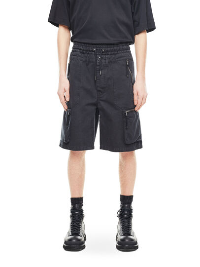 Diesel - PHILOS, Black - Shorts - Image 1