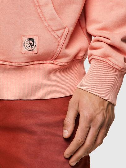 Diesel - S-GIRK-HOOD-MOHI-B1, Pink - Sweatshirts - Image 3