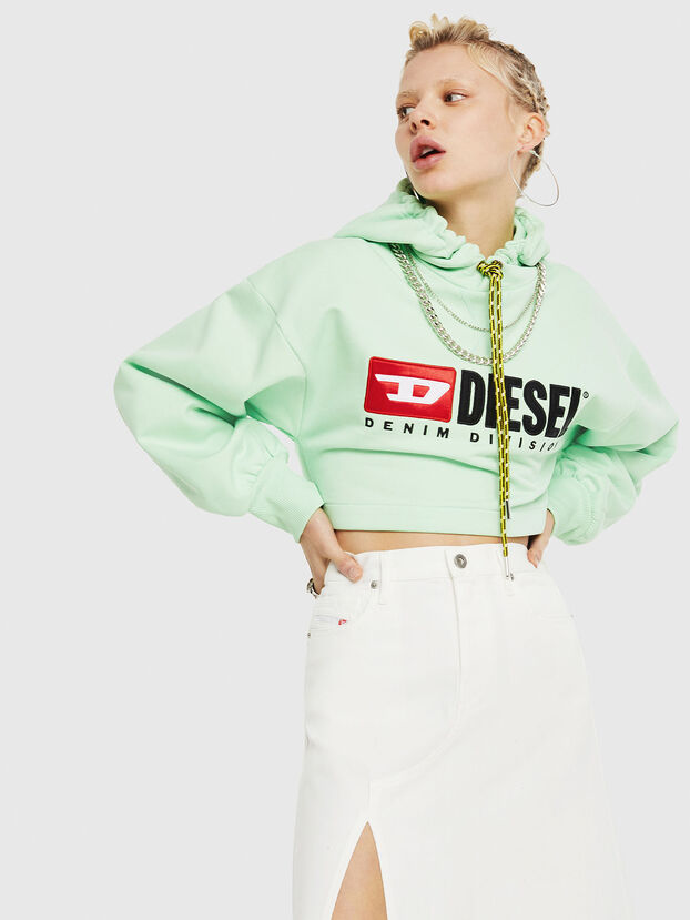 F-DINIE-A, Green Fluo - Sweatshirts