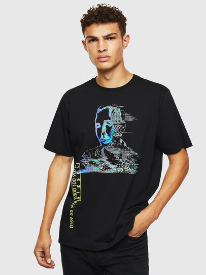 Diesel - T-JUST-J12, Black - T-Shirts - Image 1