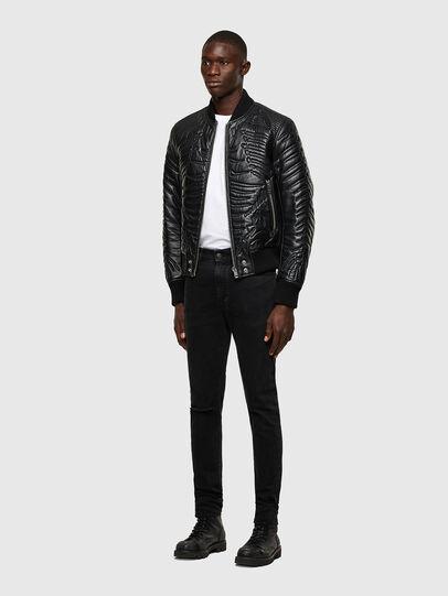 Diesel - D-Amny Skinny Jeans 084ZN, Black/Dark Grey - Jeans - Image 5