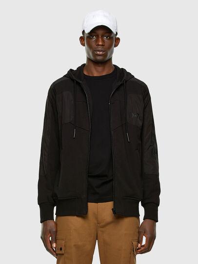Diesel - S-JAKLER, Black - Sweatshirts - Image 5