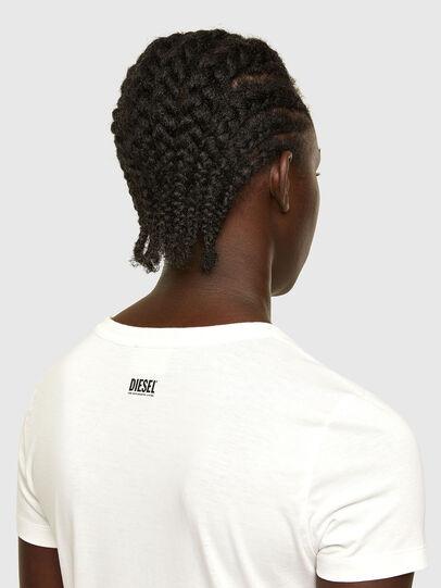Diesel - T-SOAL-R1, White - T-Shirts - Image 4