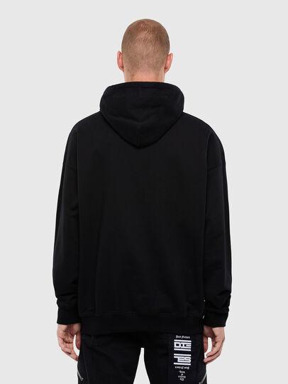 Diesel - S-UMMER-N70, Black - Sweatshirts - Image 2
