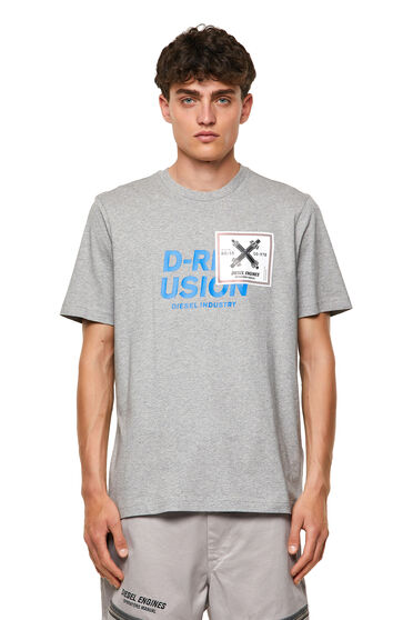 T-shirt with Diesel Industry print