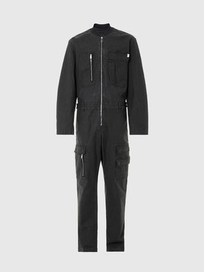 D-DEVO-SP JOGGJEANS, Black - Jumpsuits