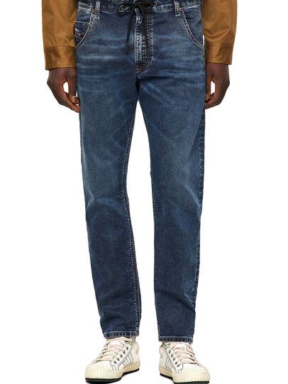 Diesel - Krooley Tapered JoggJeans® 069VX, Dark Blue - Jeans - Image 1