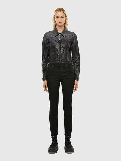 Diesel - L-SHAE, Black - Leather jackets - Image 5