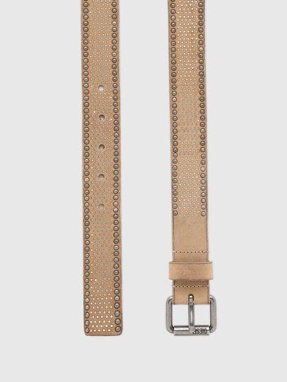 Diesel - B-OLITY, Marrón Claro - Cinturones - Image 3
