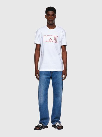 Diesel - T-DIEGOS-B8, White - T-Shirts - Image 4