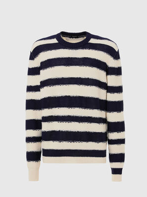 K-BRODIE, White/Blue - Sweaters
