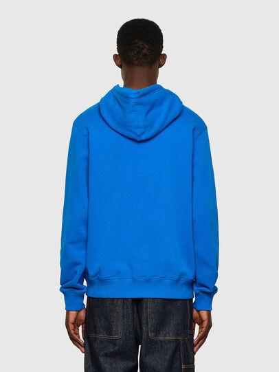 Diesel - S-GIRK-HOOD-C.C, Blue - Sweatshirts - Image 2