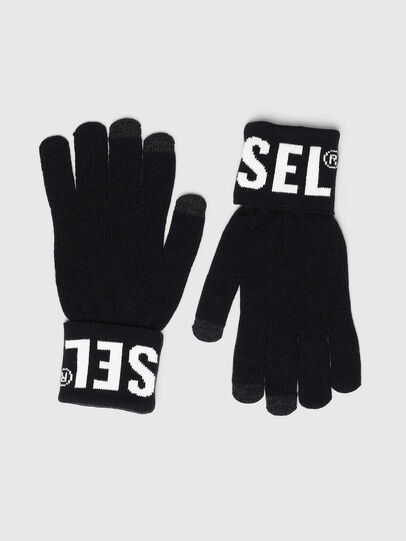 Diesel - K-SCREEX-B, Black - Gloves - Image 1