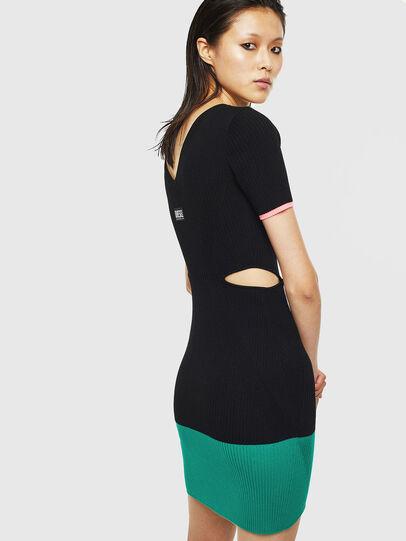 Diesel - M-BRA, Black/Green - Dresses - Image 2