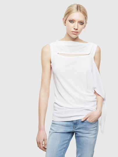 Diesel - T-TATY, White - T-Shirts - Image 1