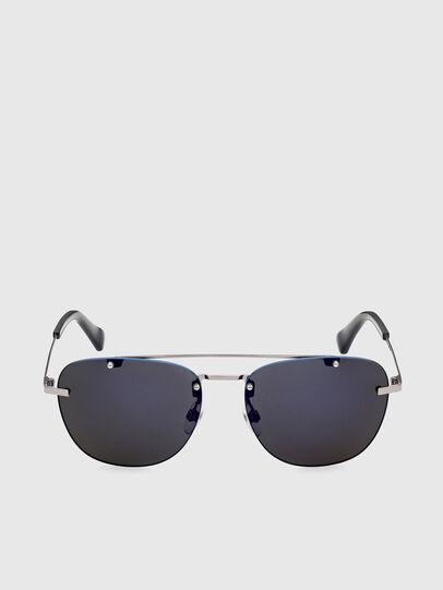 Diesel - DL0350, Grey/Blue - Sunglasses - Image 1