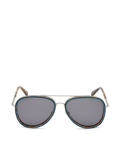Diesel - DL0167, Blue Jeans - Sunglasses - Image 1