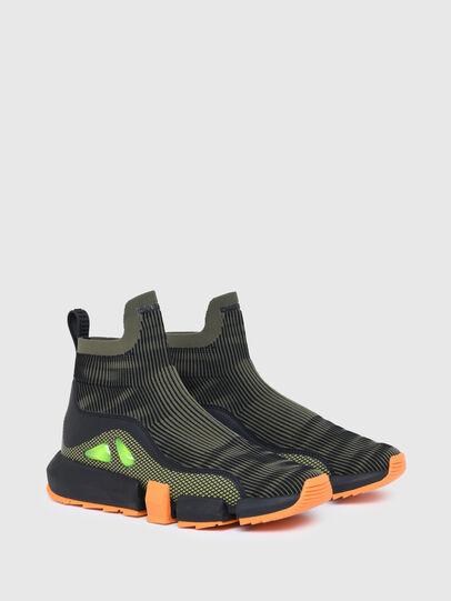 Diesel - H-PADOLA MID TREK, Military Green - Sneakers - Image 2
