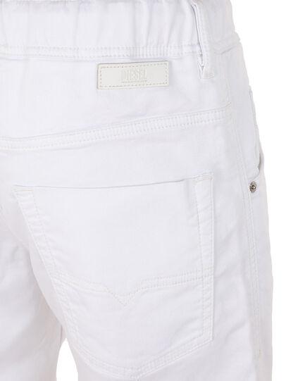 Diesel - D-KROOSHORT JOGGJEANS, White - Shorts - Image 2
